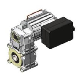Motoriduttore di caricamento pellet 105/4 3,8 RPM