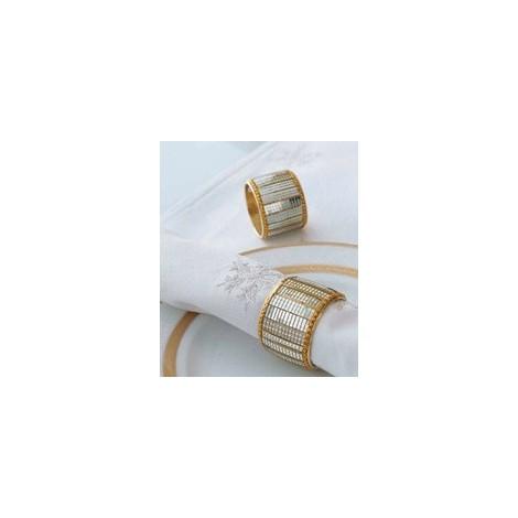 FERMATOVAGLIOLO ROYAL oro set 4 pezzi