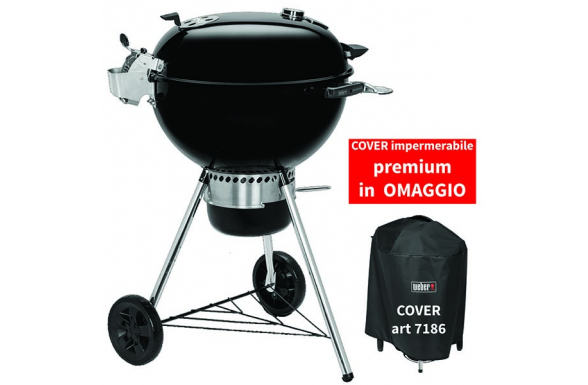 Barbecue a carbone Master-Touch GBS Premium E-5770 - 57 cm con COPERTINA PREMIUM IN OMAGGIO