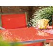 Tavolo Urban Cristallo e Acciaio con 6 Poltrone Urban Acciaio e Textilene