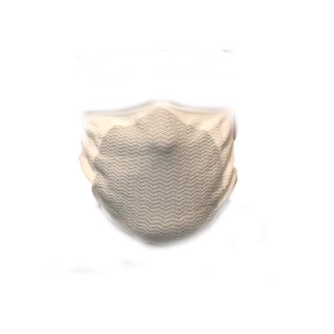 Mascherina FILTRANTE LAVABILE , TRASPIRANTE, BATTERIOSTATICO, con fibra d'ARGENTO ANTIMICROBICA