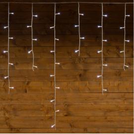 TENDA METRI 5,04 X 1 H CON 182 LED E GIOCHI DI LUCE , LUMINOSA CON TIMER, ESTERNO/INTERNO