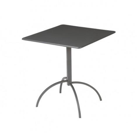 Tavolo Segno Quadrato 60 x 60 cm Pieghevole