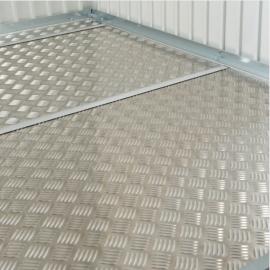Accessorio per tutte le casette: Pavimentazione in Alluminio