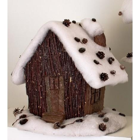 HOUSE SNOW 053 h 47 cm