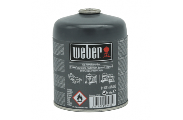 Cartuccia Ricarica Gas per Weber Gr. 445