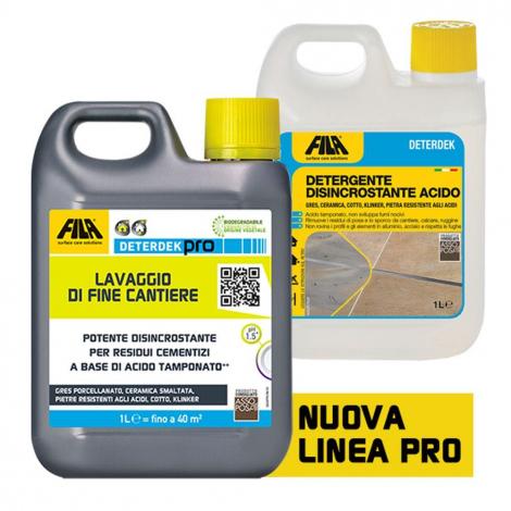DETERDEK - Lt. 5 Detergente Acido Concentrato