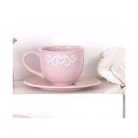 TAZZA THE ROMANTIQUE ROSA