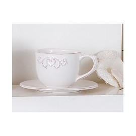 TAZZA THE ROMANTIQUE BIANCO