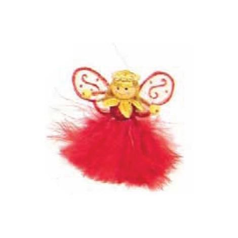 angelo Boa roSSo decorato H cm 8