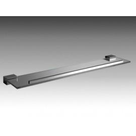 Mensola 45 cm con Ripiano Cristallo 8 Mm Logic