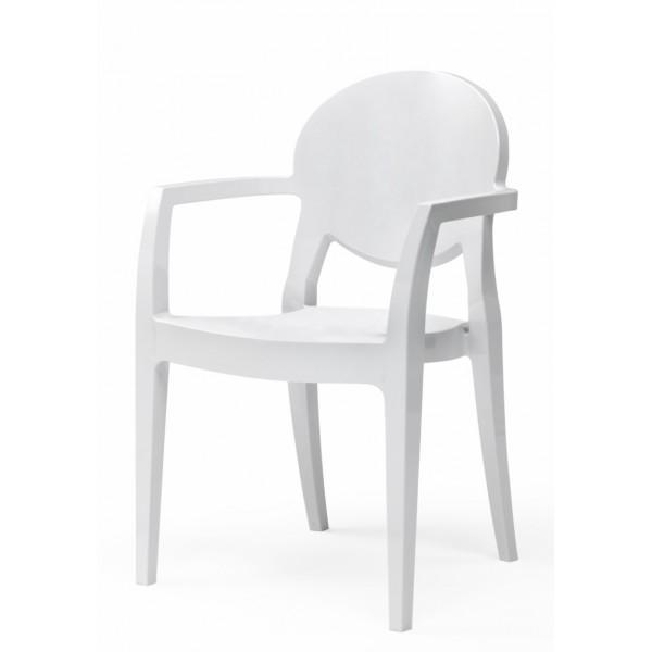 Sedie Con Braccioli Design.Igloo Con Braccioli Sedia Design Policarbonato
