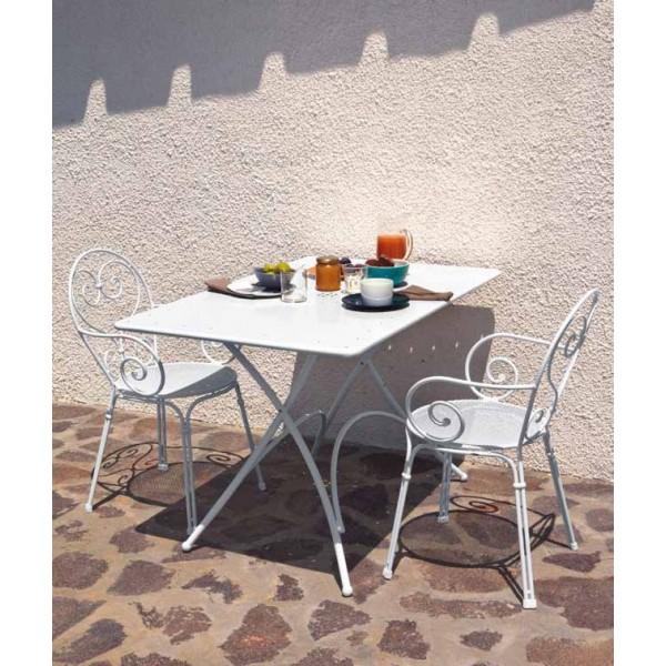 Tavolo pigalle rettangolare emu cits shop - Emu tavoli da giardino ...