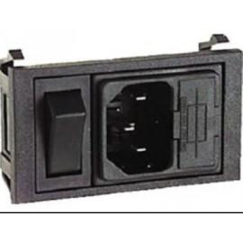 Interruttore BZ01001/s + fusibile (Filtro rete)
