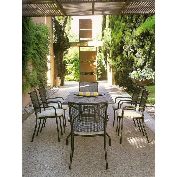 Tavolo athena emu fisso rettangolare 180 x 90 cits shop - Emu tavoli da giardino ...