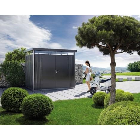 Casetta Highline Misura H4 con Porta a Due Battenti cm 275 L x 275 P x 222 H