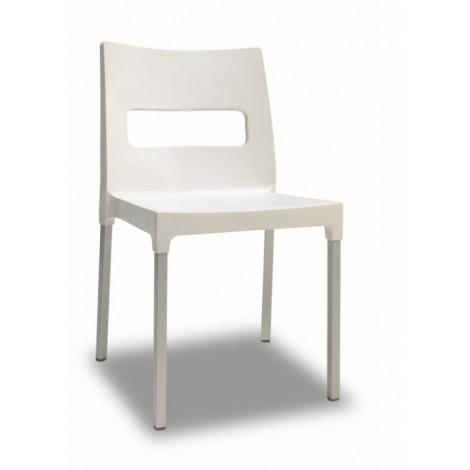 Sedia Maxi Diva in Tecnopolimero e Alluminio