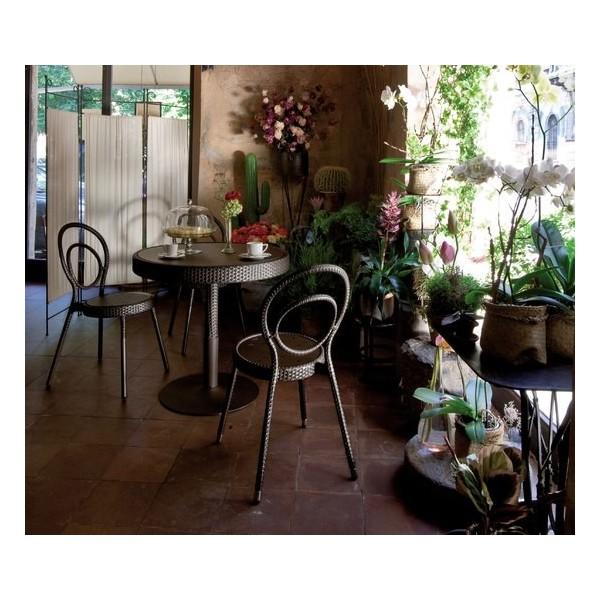 Tavolo charleston 60 cm diametro cits shop for Metro arredo giardino