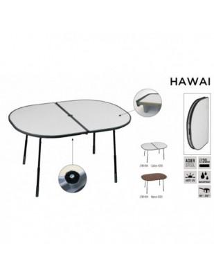 Tavolo Pieghevole Regolabile Hawai cm 128 x 90