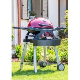Barbecue Dolcevita Twin Grill 2 Fuochi con Carrello a gas