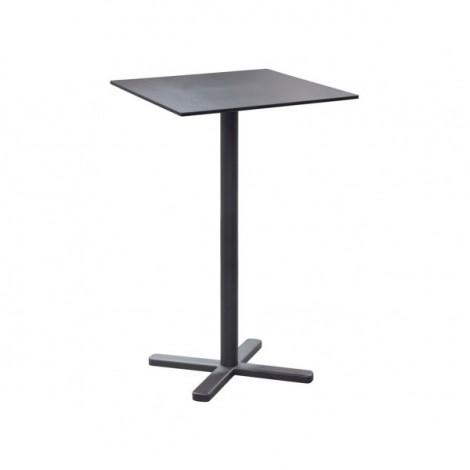 Darwin tavolo quadrato alto pieghevole cm 70 x 70 x h 105 for Tavolo alto pieghevole