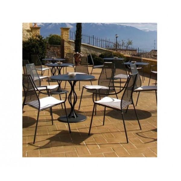 Vera tavolo tondo cm 80 diametro cits shop - Tavolo tondo estensibile ...