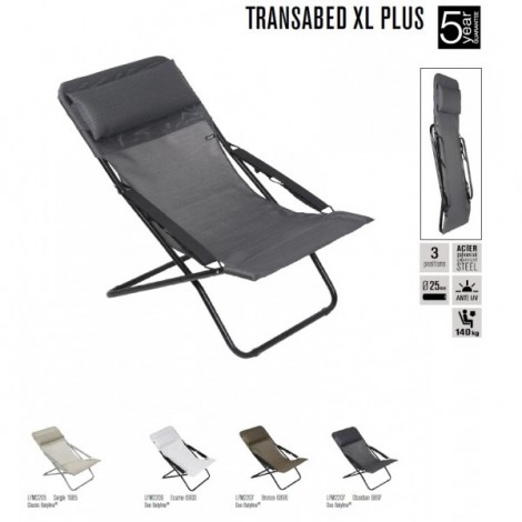 Transabed Xl Plus Batyline Chaise Longue / Lettino Prendisole