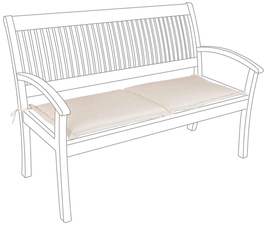 Cuscino per panca e dondolo 2 posti cm 110 x 42 cits shop for Cuscino per panca ikea