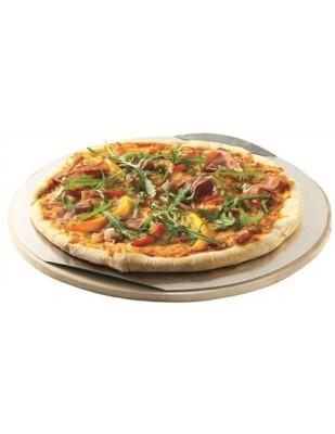 Pietra Refrattaria ø 36,5 cm Rotonda per Pizza per Barbecue a Carbone