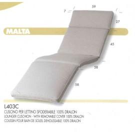 Cuscino Malta per Lettino