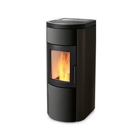 Natural 9 GLASS 9.0 Kw a Convezione Naturale e Ventilazione con Braciere Autopulente