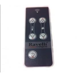 Telecomando RDS 5 tasti per stufe ravelli serie R