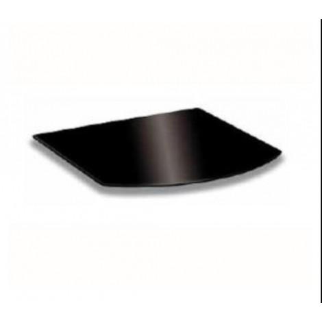 Pedana Grande in vetro nero Misura 80x80