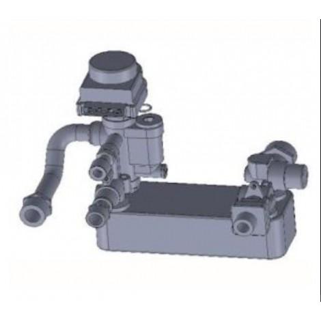 Kit produzione acqua sanitaria per stufe hidro HRV160 ver.2 - HRevo 18