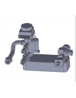 Kit produzione acqua sanitaria per stufa hidro HR200