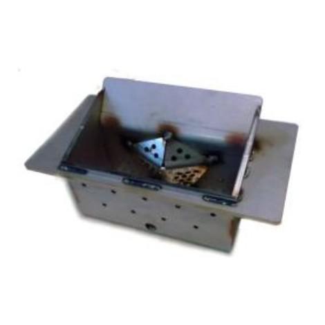braciere per stufa modello HRV160 ver.1 - HR200 ver.1-2