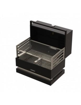barbecue a carbone GRILL PORTATILE FORNO 650 con cappa forno