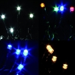 Minilucciole MT 8 CON 192 Led vari colori per Esterno / Interno con Motorino 8 Giochi Luce