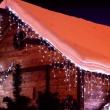 tenda mt 8,6 con 360 led bianchi con motorino 8 giochi luce per esterno / interno