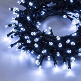 Catena TLE 100 LED vari colori Esterno e interno con giochi luce