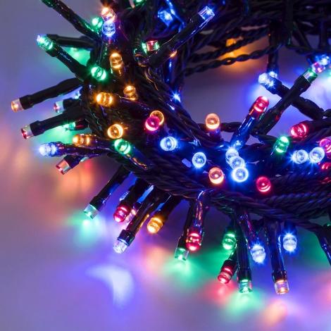 Catena TLE 180 LED vari colori Esterno e interno con giochi luce