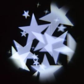 Proiettore GARDEN Stelle STARS LED BIANCO con Rotazione Esterno e interno Ø 5 mt
