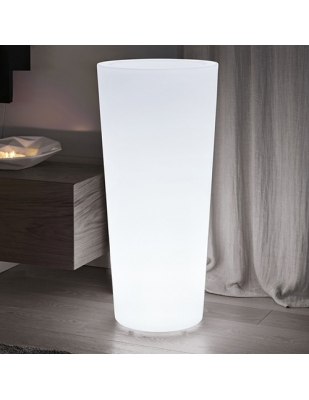Vaso Ilie Light cm 47 Diametro x 98 H Resina