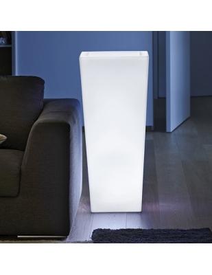 Vaso Kiam  Light cm 40 x 40 x 90 H Resina