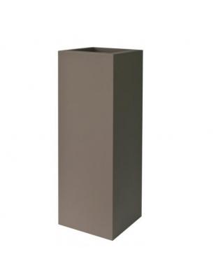vaso Kube tower cm 30 x 30 x 90 H Resina Lt. 10