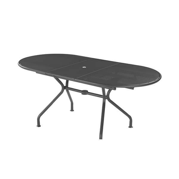 Tavolo piano ovale emu allungabile cits shop - Tavolo ovale allungabile ...
