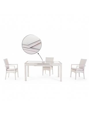 Tavolo Athena Allungabile 160/212 cm Completo di 4 Sedute
