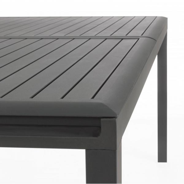 Tavoli Da Giardino In Alluminio Allungabili.Tavolo Da Giardino Modello Odd Alluminio Allungabile Color Antracite