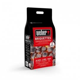 Bricchetti di Carbone Weber Sacco 4 Kg