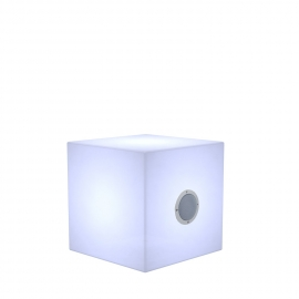 cuby PLAY 32 LED rgb con cassa audio 2x5W bluetooth